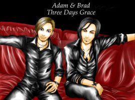 Adam and Brad by OjouLaFlorDeNieve