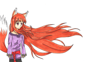 Spice and Wolf by cyberbubble99