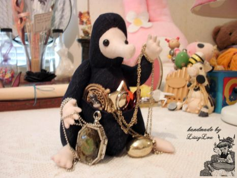 Niffler (inspired by the Harry Potter Series) #5 by handmadebylissylou