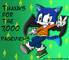 thanks for the 7000 pageviews by Ferni21