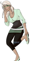 [Happy-Tails]: Paige by Megane--Sama