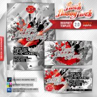 RedRock Flyer Template by iQdiz