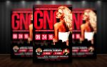 Girls Night Out Flyer Template by MatteoGianfreda94