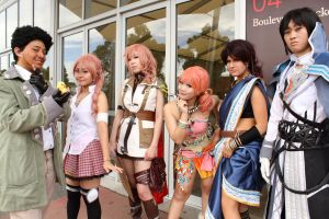 FFXIII Group by flauel