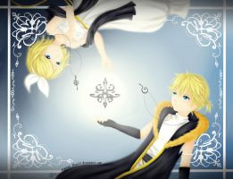 Rin and Len -Synchronicity- by Pichiruu