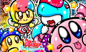 Kirby And The Rainbow Curse by PoyosEpicProductions