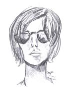 Sunglasses sketch by Lucy777