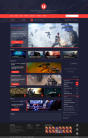 Gaming Review Website by Gazgoyle