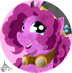 Pinkie Pie Fashion Button by ArwingPilot114