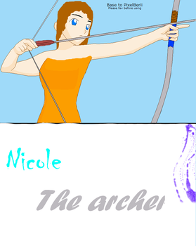 Nicole the Archer by nicole765643663
