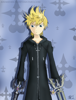 The Key of Destiny - Roxas by CeruleanShadow