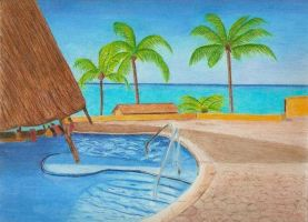 Tropical Pool Finished by Bobcat79