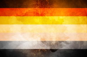 BEAR FLAG Bandera GAY Community by paundpro