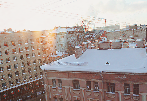 snow in spb by Daniel-Van