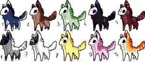 CLOSED - Maskees Adoptables 289 by LeaAdoptables