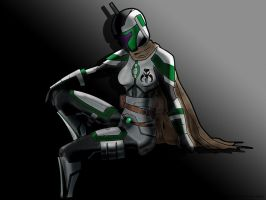 Mando Gal by eaterofsoulz