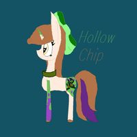 Hollow chip by nightmarefox3212
