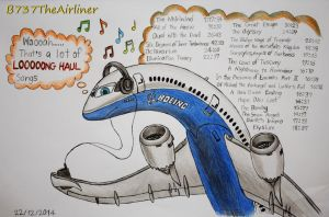 Long Haul Music... by B737TheAirliner