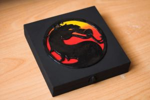 Mortal Kombat Cigar Box by NekoClay