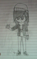 My  New Oc! :D by xOAVRILOx