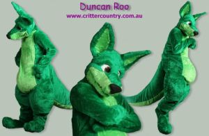 Duncan Fursuit by ozkangaroo