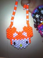 Hello Kitty Deadmau5 necklace. by InvaderAxelle