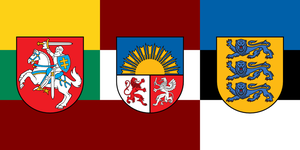 Baltic Grand Duchy Flag by SoaringAven