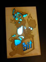 Awesome wood thingy of glowness by Bitcoon