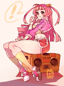 Boom Box Babe by Poch4N