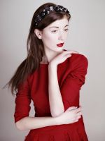 red dress by psychiatrique