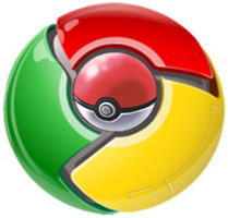 The real google chrome logo by ThugCup