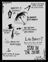 The Goth Summer Survival Guide by DecadentDementia