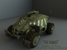 The Humvee by BlooCoops