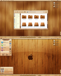 glossy woode by Acedesk