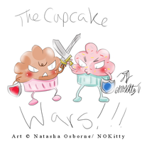 The Cupcake Wars by missnokitty