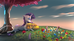 In meadow love blooms by Alumx