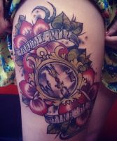 neo traditional work by Alex Roze by HammersmithTattoo