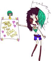 +13k+ Thank you by Tesuway-chan