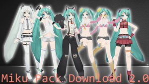 Miku Pack 3 Download v2.0 by AlexIsDeadddx