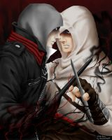Alex and Altair by Invader-Shi