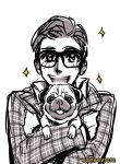 Kingsman + Eggsy and JB by xanseviera