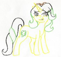 Dr N.Pathy Ponyfied by VexerRVixen