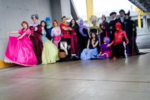 Mother Gothel and her *Villain Friends* by piperina