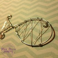 Wire Wrapped Fish Pendent by WireMoonJewelry
