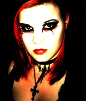 gothic make up by MissDetti