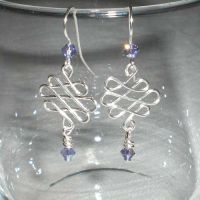 Celtic Knots with Tanzanite by misticloudz