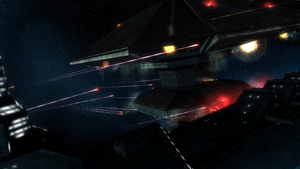 Attacking the Station by bigandyb1