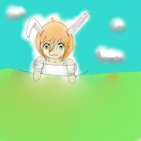 BUNNY (poor qualitiy... SORRY) by TheDrawingManga