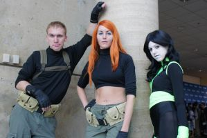 Kim Possible Team by FatalValkyrie