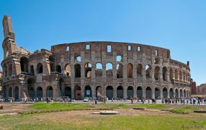 Roman Colosseum by agelisgeo